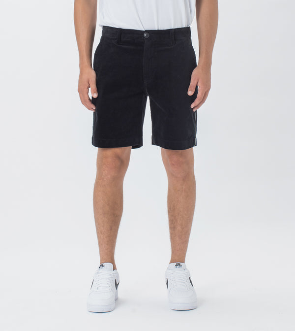 Kyoto Cord Short Black