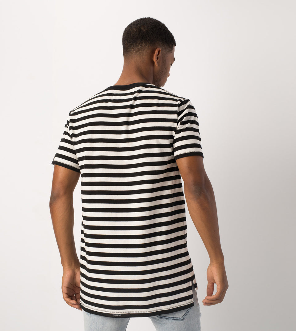 Label Flintlock Tee Black/White - Sale