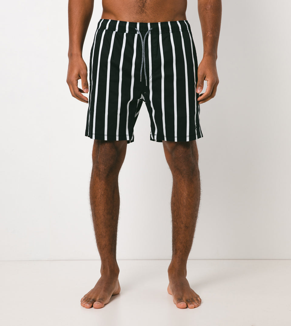 Pinstripe Laguna Short Black/White - Sale