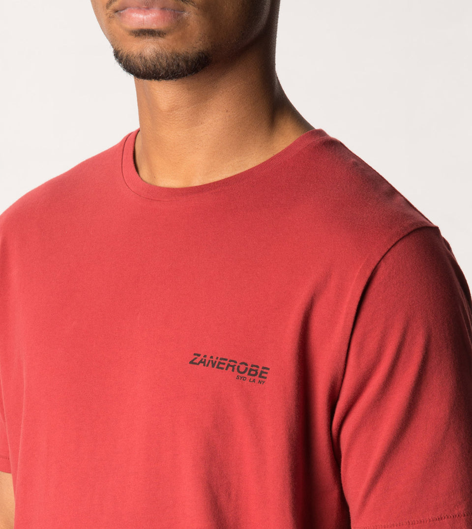 League Flintlock Tee Dk Cherry - Sale