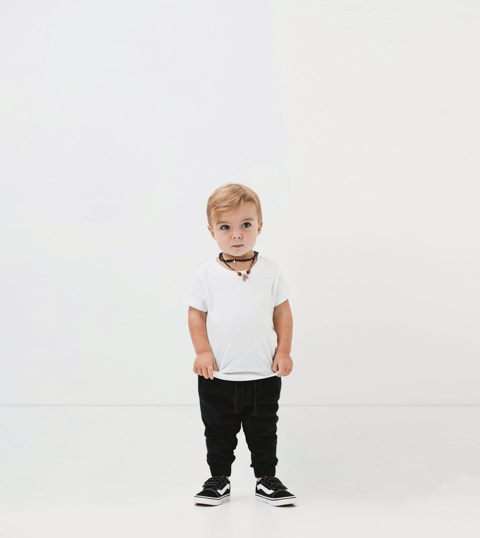 Lil ZANE Sureshot Jogger Black (Use Code FREESHIP for Free Shipping)