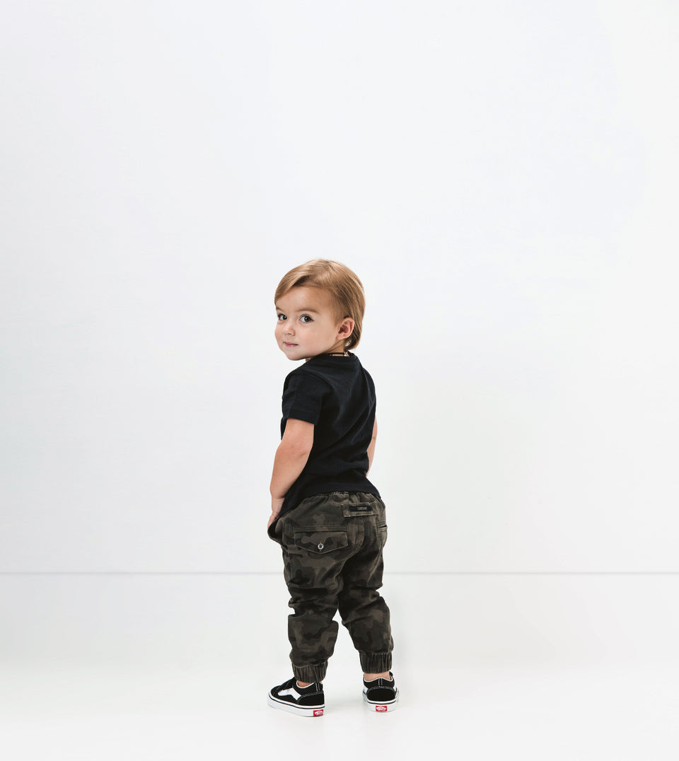 Lil ZANE Sureshot Jogger Dark Camo (Use Code FREESHIP for Free Shipping)