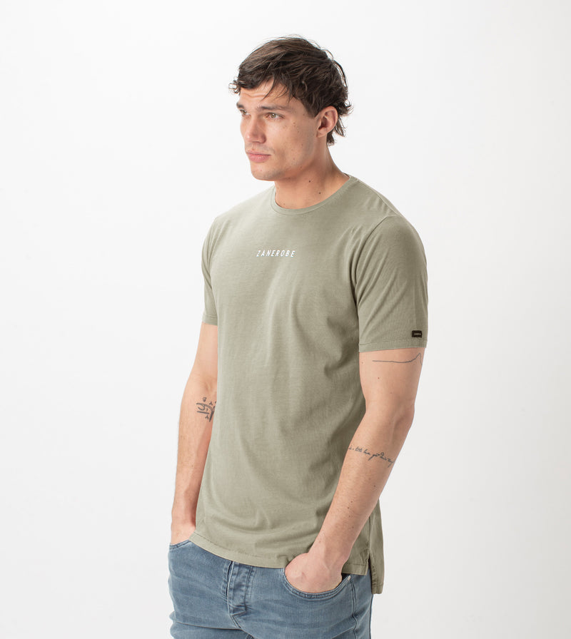 Logotype Flintlock Tee GD Moss