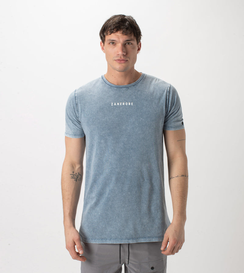 Logotype Flintlock Tee Salt Blue