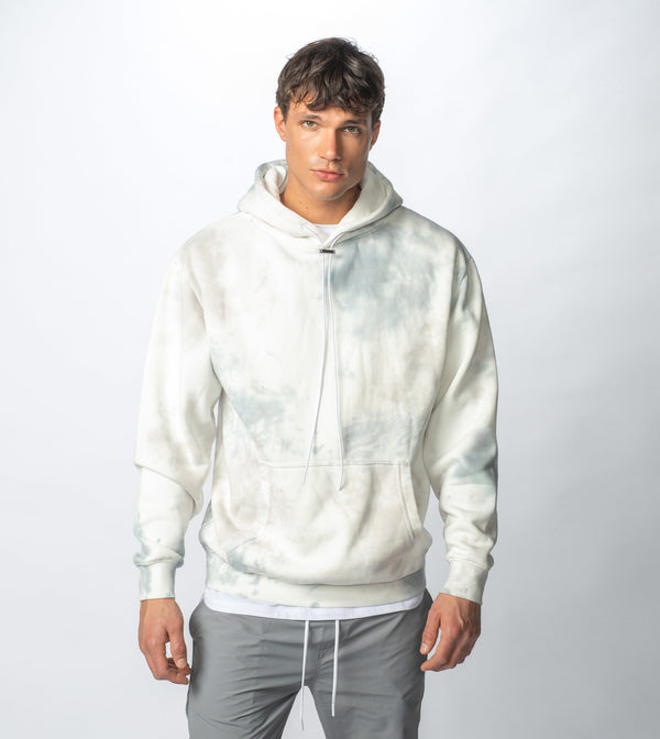 Lowgo Cloud Hood Sweat Milk/Cement
