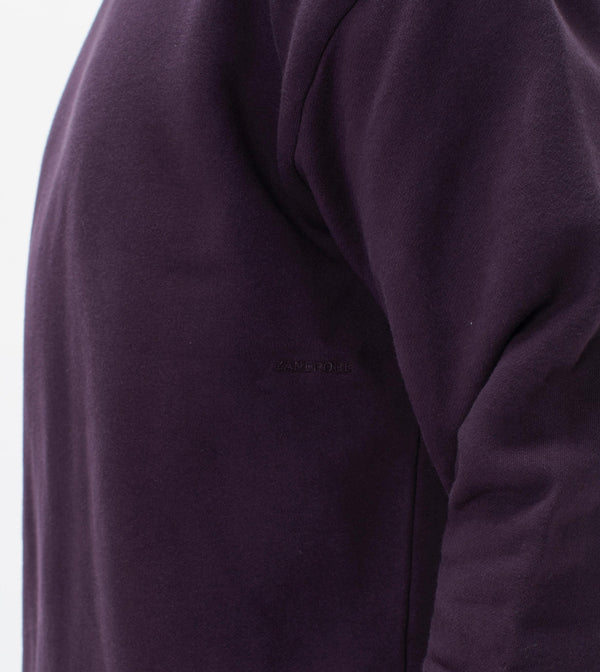 Lowgo Crew Sweat Dk Grape