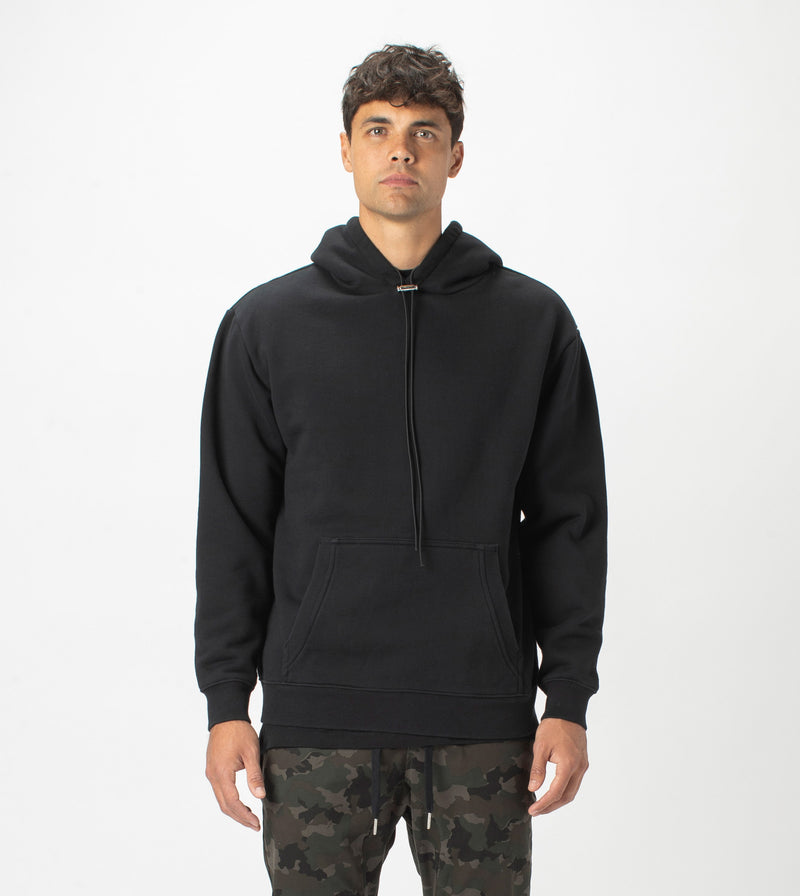 Lowgo Hood Sweat Black