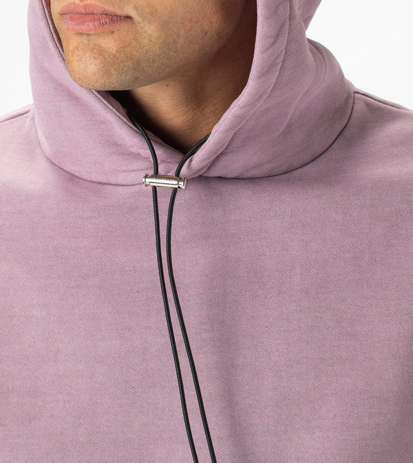 Lowgo Hood Sweat GD LT Purple