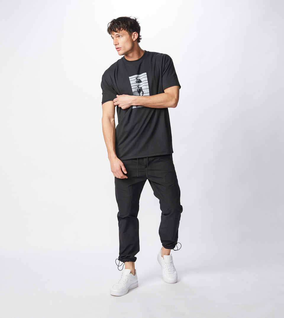 Mono Box Tee Black - Sale