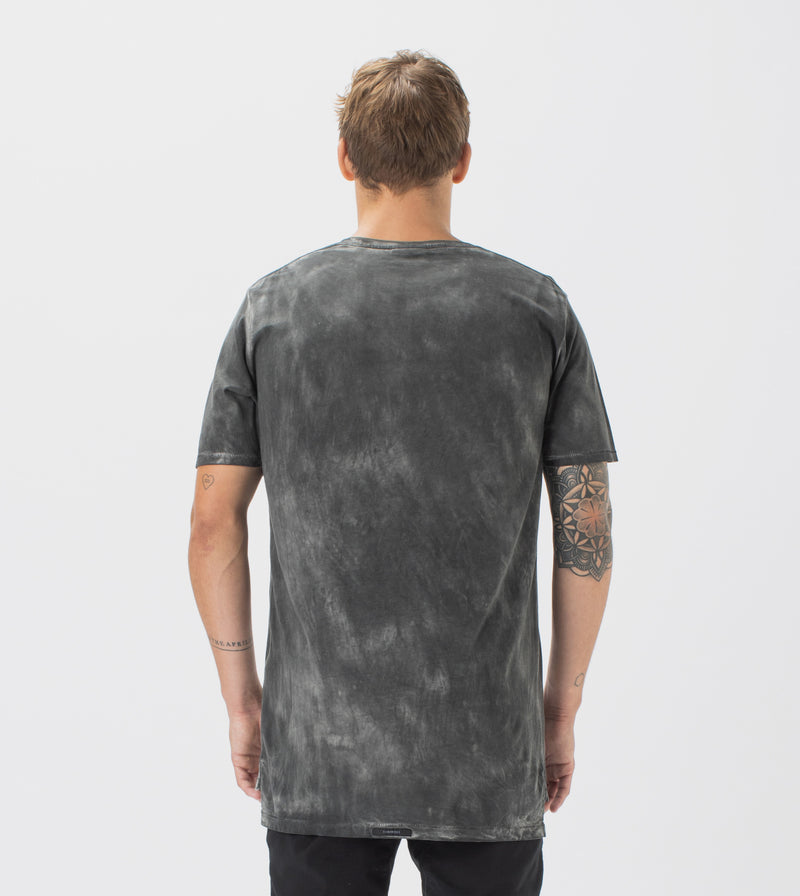 Marble Flintlock Tee GD Black