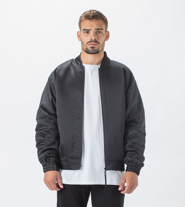 Buffer Bomber Jacket Black