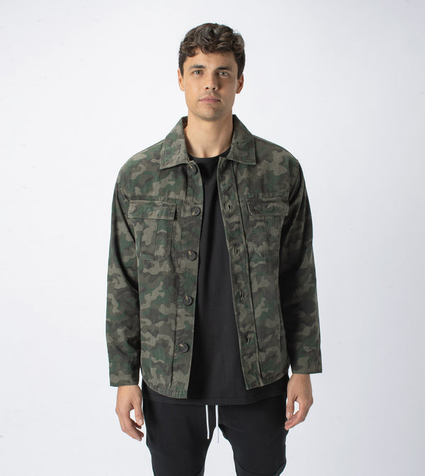 Maxfield Lightweight Utility Jacket