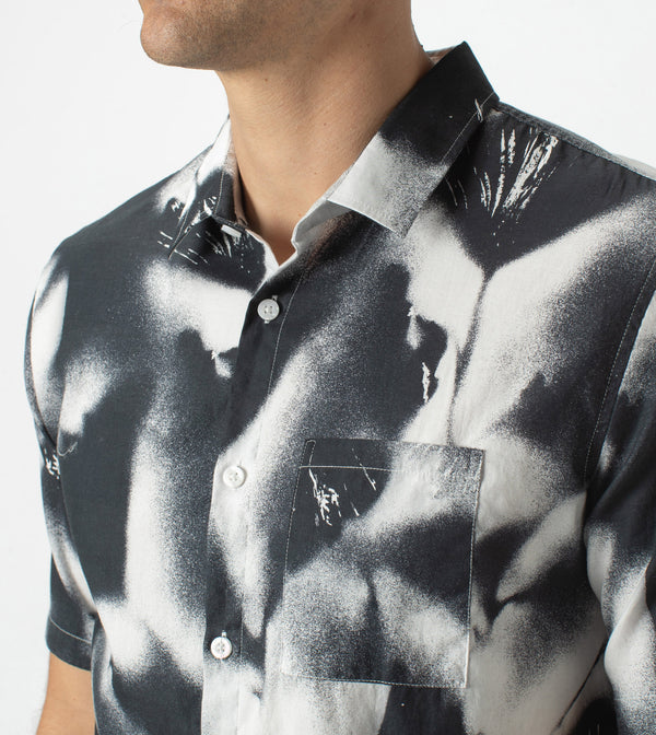 Mist SS Shirt Black - Sale