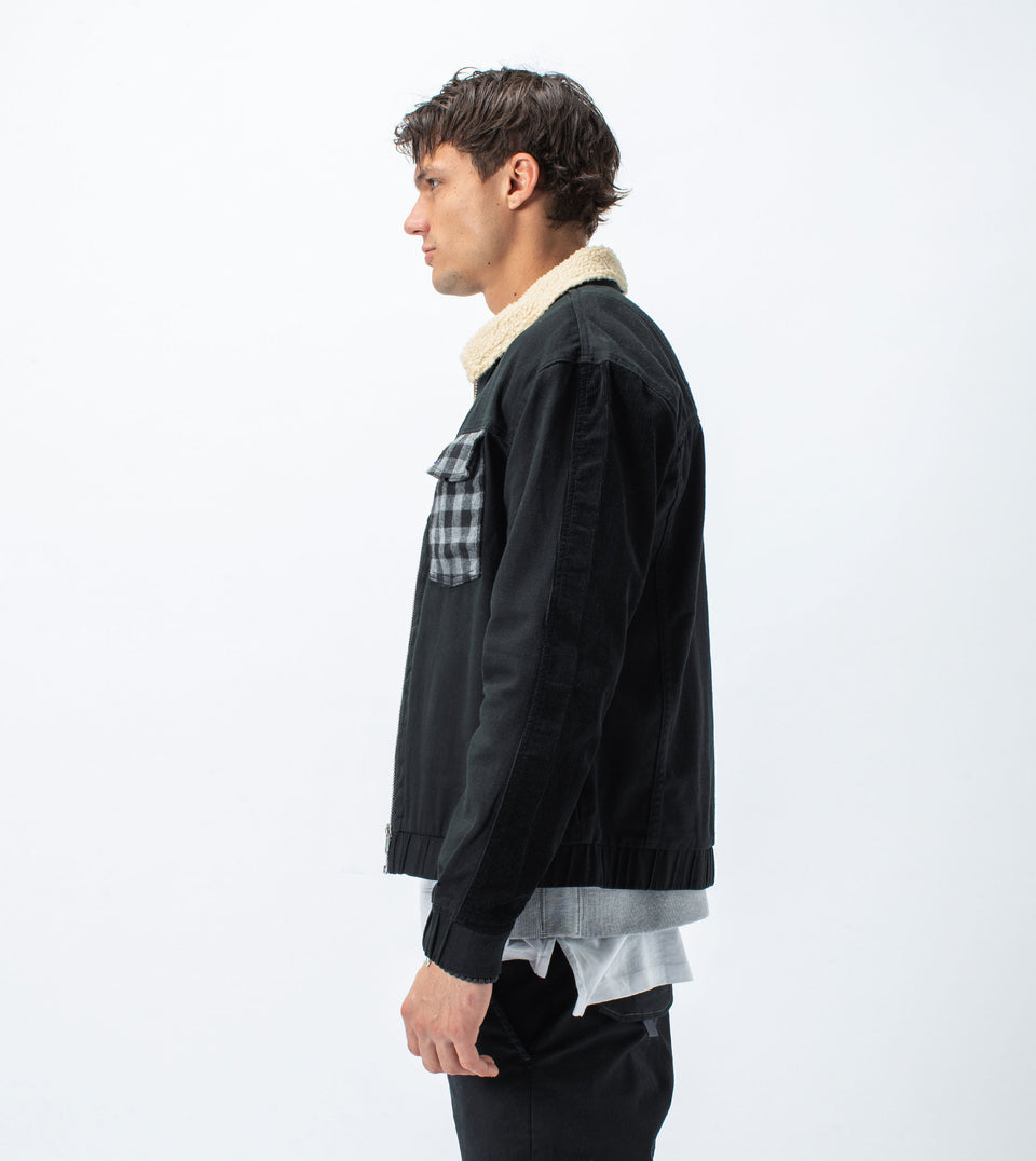 Mix Work Jacket Black