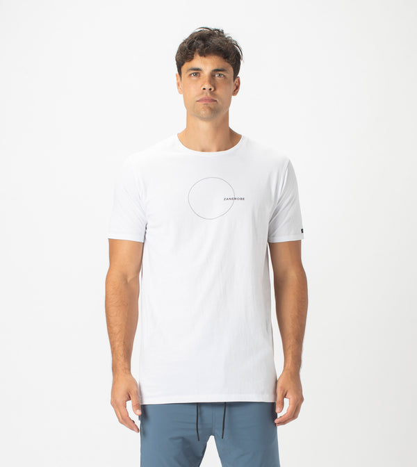 Orb Flintlock Tee White