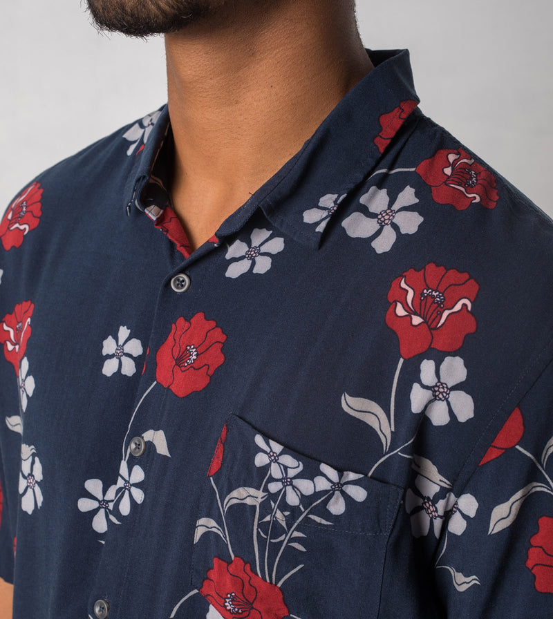 Orient SS Shirt Duke Blue