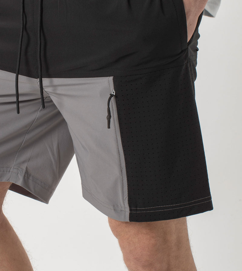 Panel Day Short Cement/Black