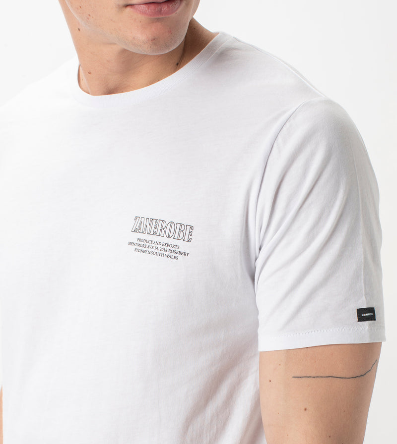 P&E Flintlock Tee White