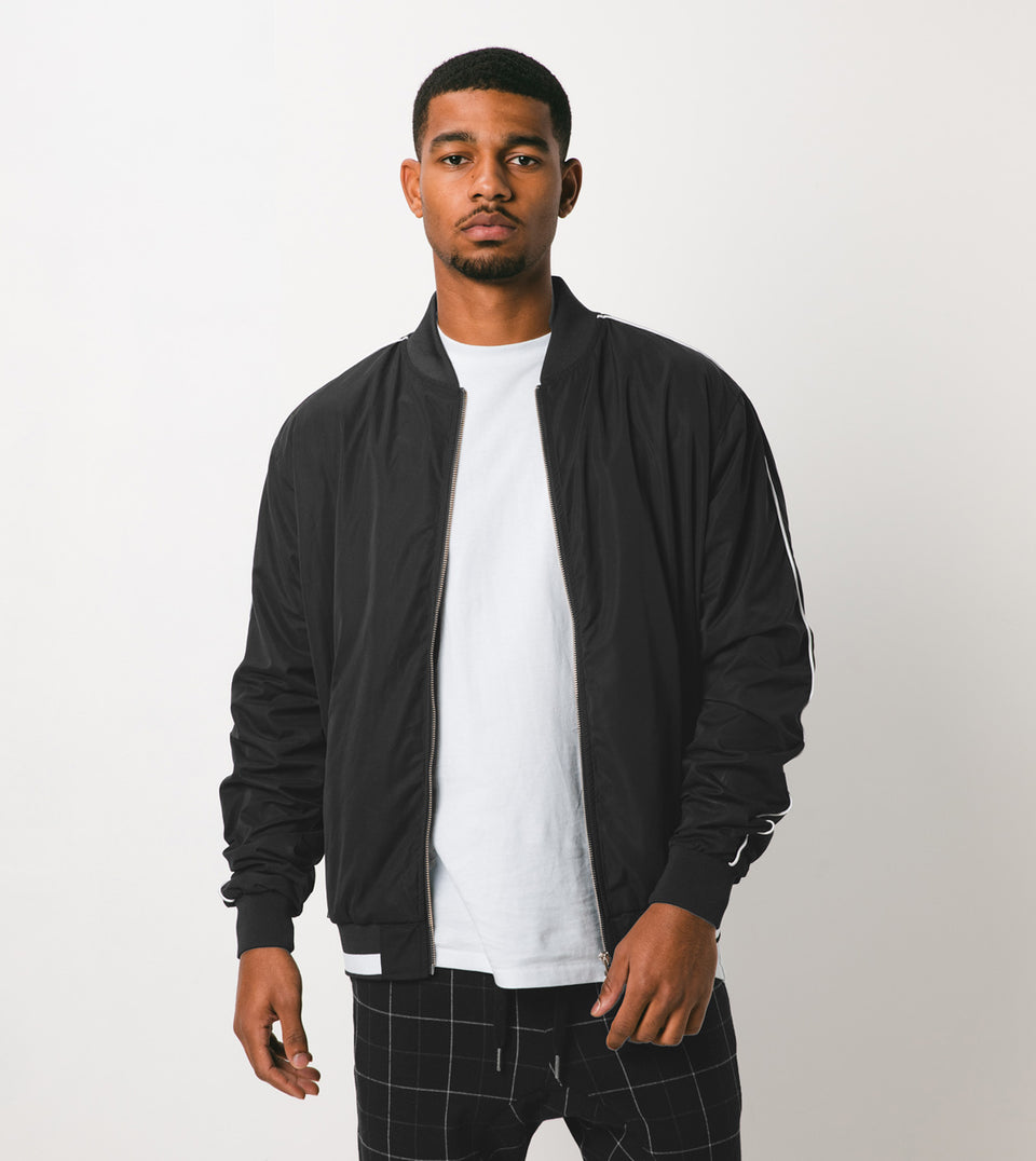 Piped Bomber Black - Sale