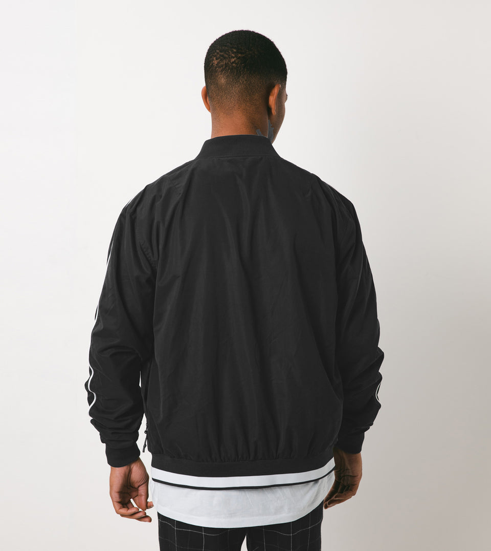 Piped Bomber Black