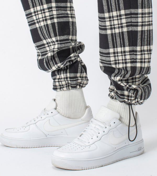 Plaid Jumpa Jogger Black/Milk - Sale