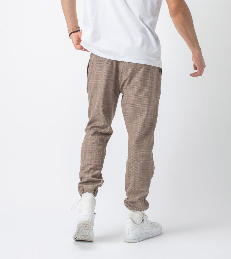 Plaid Jumpa Jogger Timber