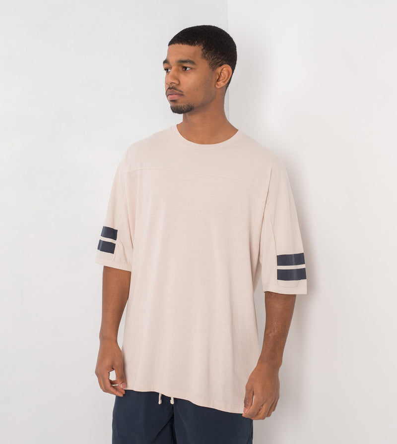 Quarterback Rugger Tee Natural
