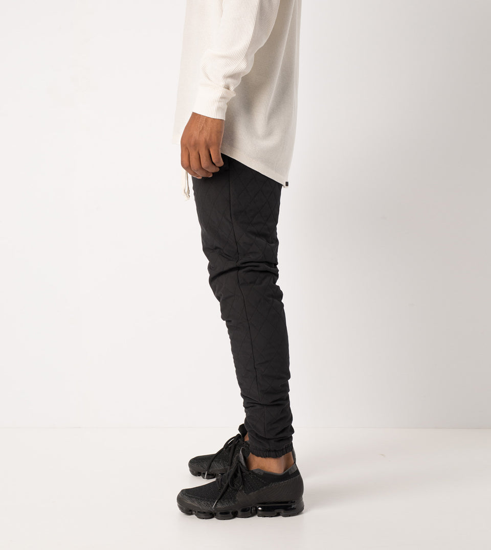 Quilt Flight Pant Black - Sale