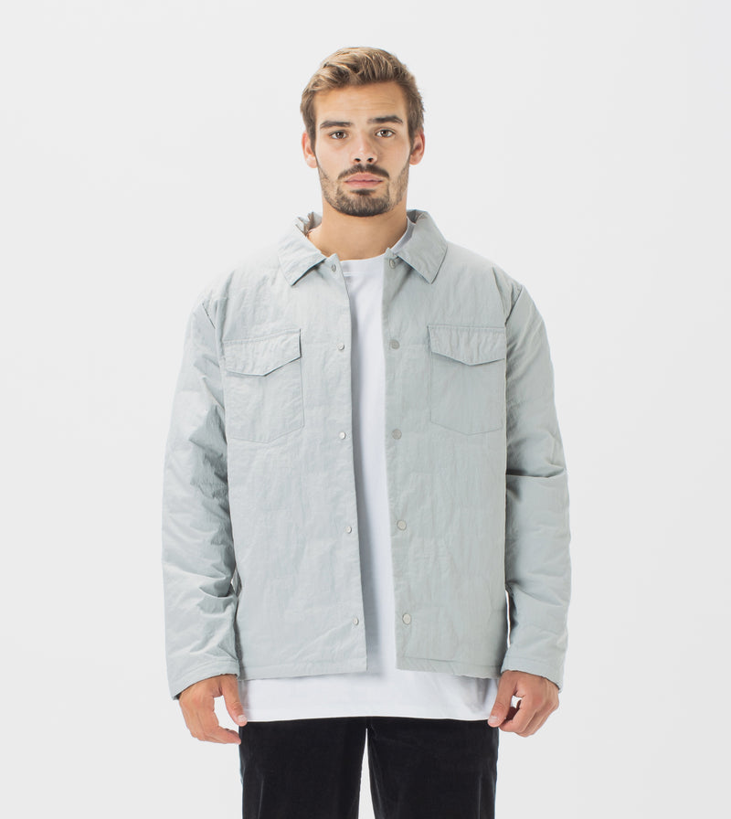 Quilt Shell Jacket Ice Grey