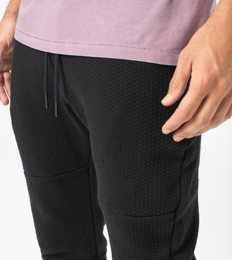 Quilt Sureshot Fleece Jogger Black
