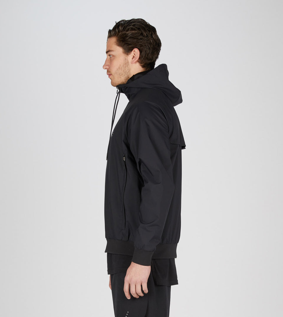 Air Spray Jacket Black