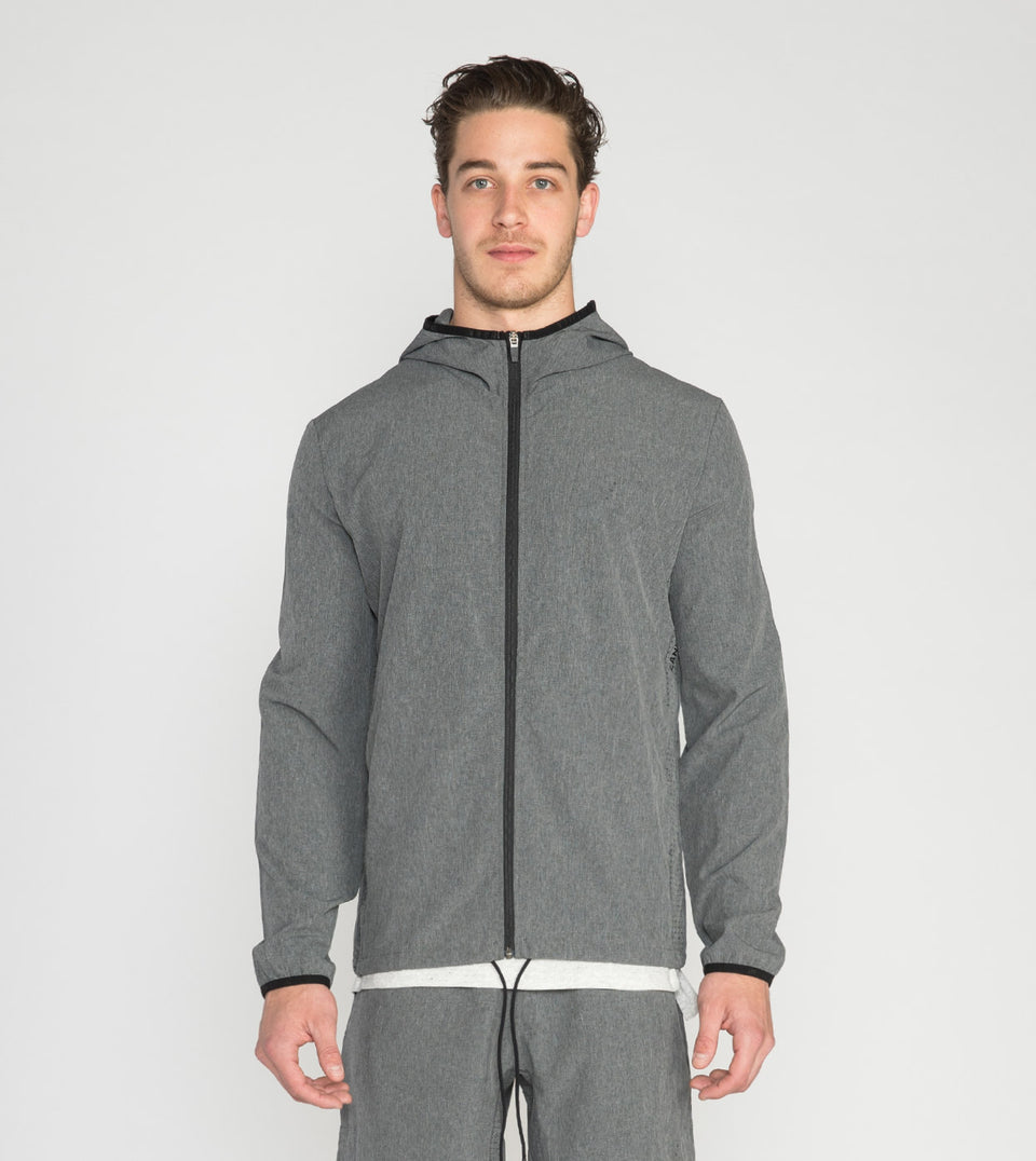 Bi-Stretch Tech Shell Jacket Carbon - Sale