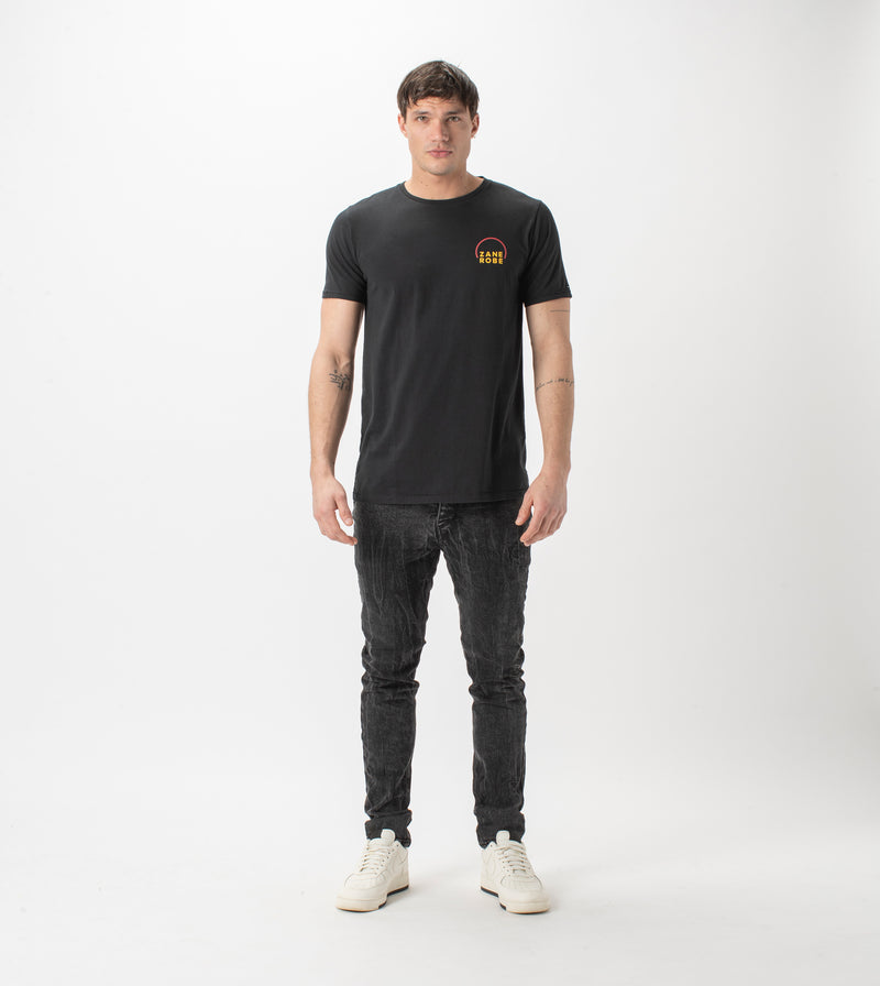 Rising Flintlock Tee Black