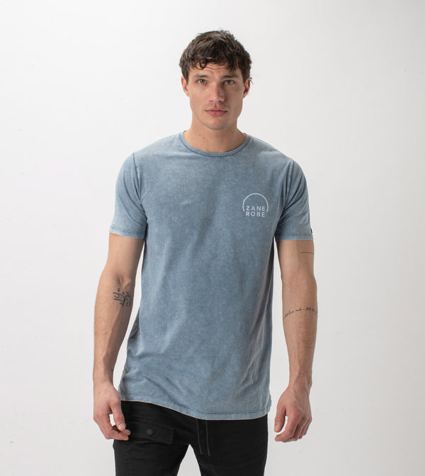 Rising Flintlock Tee Salt Blue