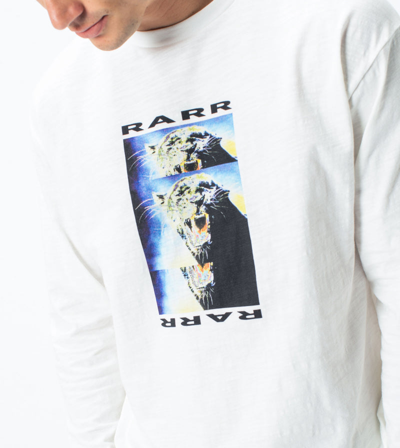 Rarr Box LS Tee Milk - Sale