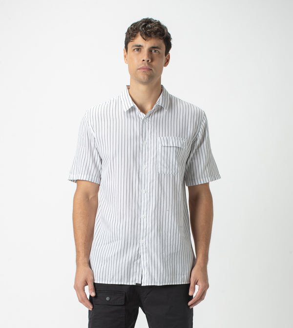 Resort SS Shirt Black/White - Sale