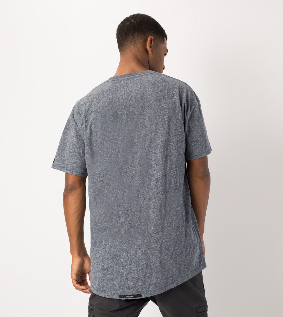 Rugger Tee Denim Marle - Sale