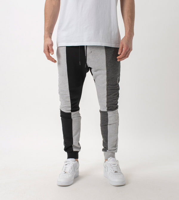 Sureshot Fleece Jogger Black/Greys - Sale
