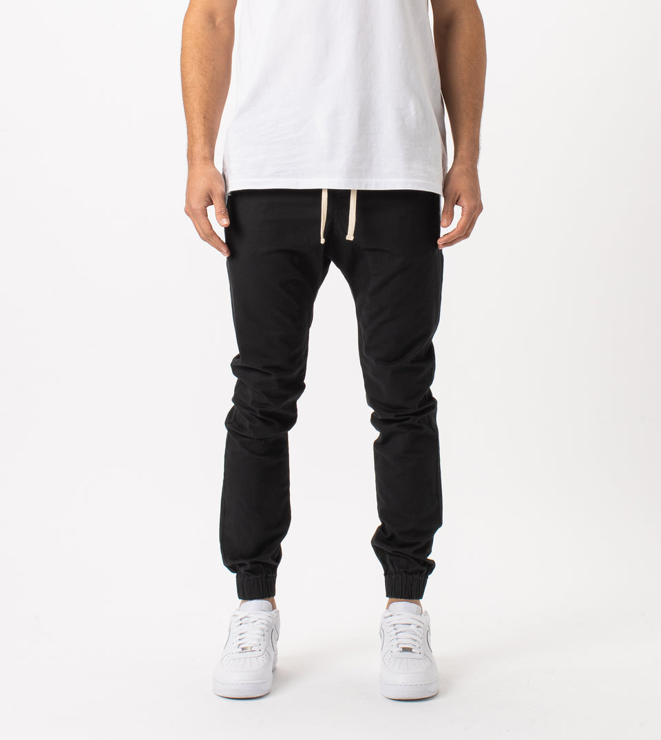 Sustainable Sureshot Jogger Black