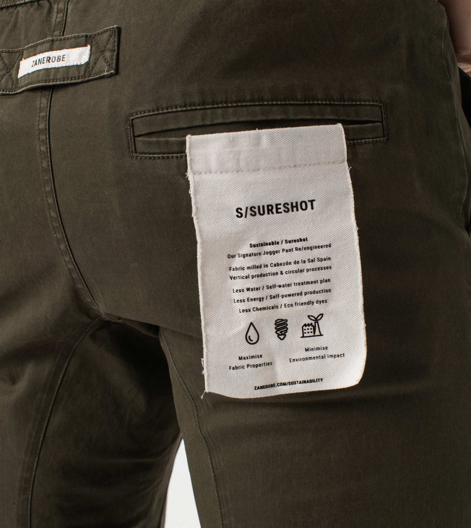 Sustainable Sureshot Jogger Peat
