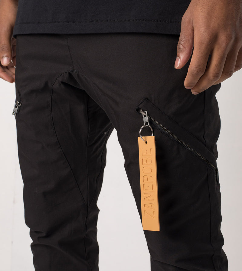 Salerno Tech Pant Black