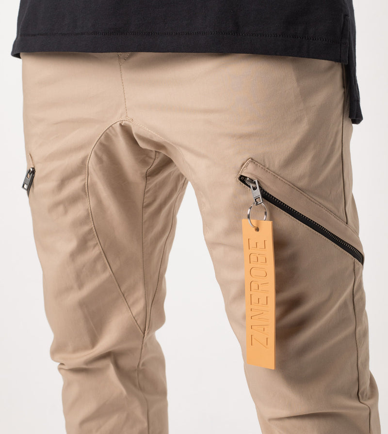 Salerno Tech Pant Tan