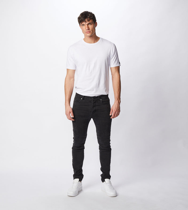 Scrambler Joe Blow Denim Archive Black