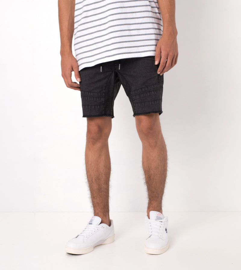 Scrambler Sureshot Short Black Acid - Sale