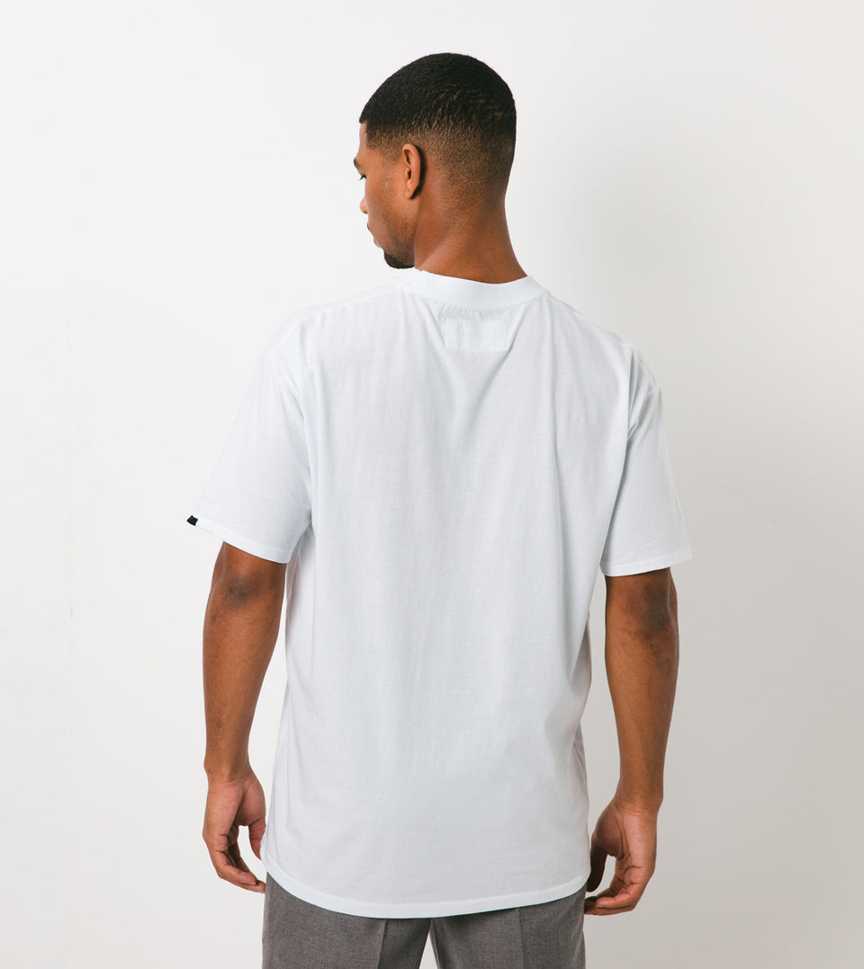Services Box Tee White