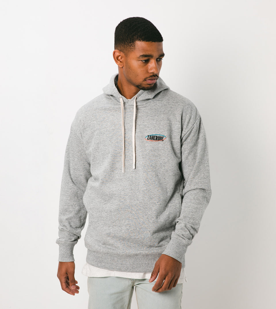 Services Rugger Hood Sweat Grey Marle