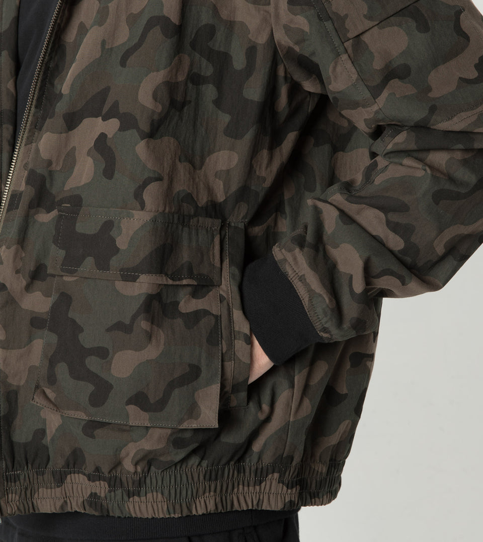 Sherpa Jacket Dark Camo