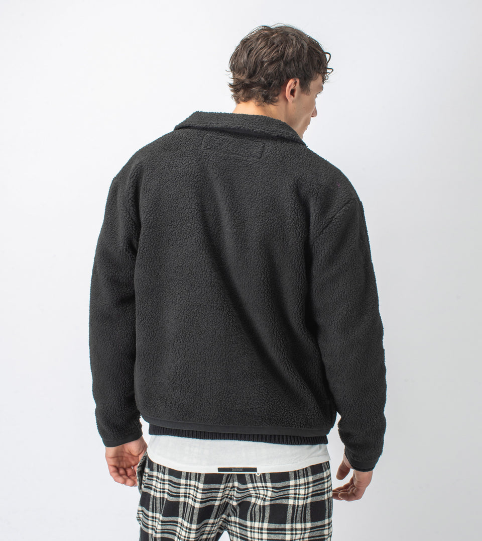 Sherpa Liner Jacket Black