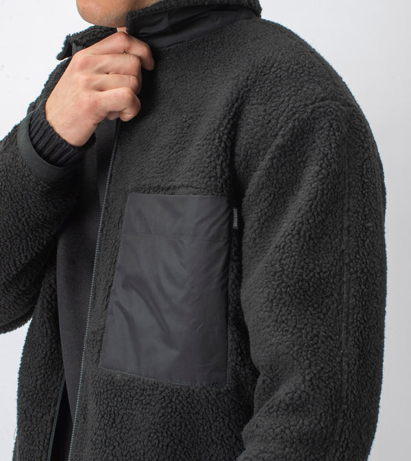Sherpa Liner Jacket Black - Sale