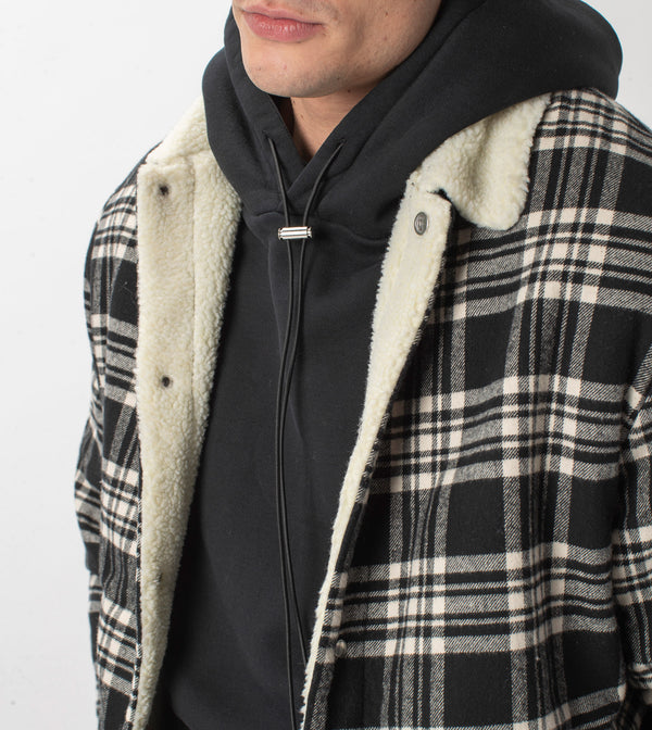 Sherpa Work Jacket Black/Milk